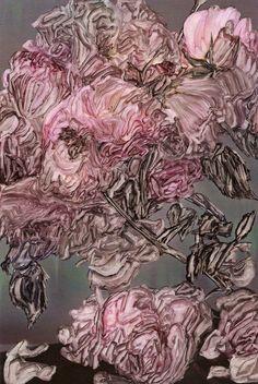 "Saatchi Online Artist: Ibon Mainar; Oil, 2009, Painting """"Flowers Mag"""" #art #flowers"