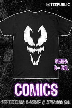 b82e496d414 Shop Venom venom t-shirts designed by Scar as well as other venom  merchandise at TeePublic.