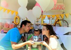 Ophelia's 1st Birthday Carnival #birthday #carnival #airstream #first #one