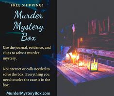 One box, one mystery. MurderMysteryBox.com . . . . . . #mystery #murdermystery #murdermysterybox #mysterybox #murderbox #killerbox #subscription #murdermysterysubscription #subscriptionbox #investigate #adventure #subscribe #detective #clue #evidence #interactive #solve #case #crime #cozymystery #journal #freeshipping #gift #giftideas #adventures #reading #books What It Takes, Cozy Mysteries, Mystery Box, Reading Books, Happenings, Investigations, Detective, Crime, Journal