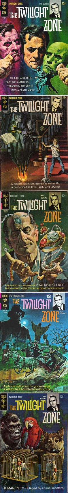 The Twilight Zone — comic books