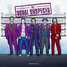 Ok just made this one for Comic Book Resources so it will be up soon in the site. The concept is The Joker invades other film posters. This one is of The Usual Suspects.  #thejoker #joker #jokermovie #jokerfilm #theusualsuspects #jaredleto #jacknicholson #cesarromero #heathledger #joaquinphoenix #comicart #comicbookart #comicartist #comicbookartist #gotham #batman