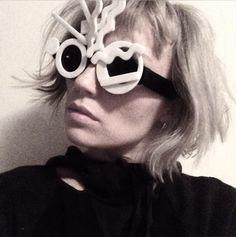 Creem Magazine features Mercura NYC Pop Art Sunglasses styled by Nastia Sans 2015
