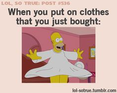 I tend to do this when i get them but i put on an imaginary fashion show