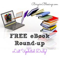 I have this page favorited and check it daily! I love all the free eBooks and other freebies that this website has!
