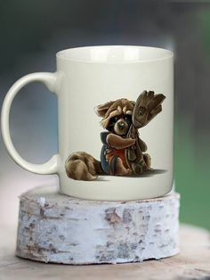 Gardiens de la galaxie Groot Mug tasse de café tasse par LyonMug