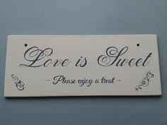 Wedding sign ♥ Fb The Shabby Shed