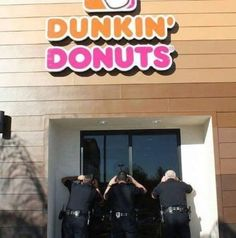 Dating a cop jokes donuts