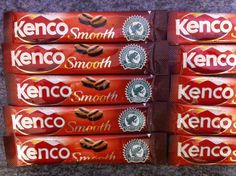 20 piece KENCO SMOOTH Coffee Sachets Lot For Office, Camping, Dieting! Ref 005