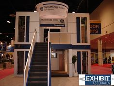 Literally - taking it to the next level!   #impact #tradeshow #exhibit