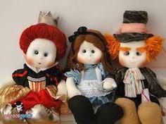 Resultado de imagem para bonecas de pano personagens