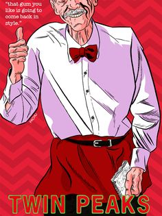Twin Peaks Collection - 19 Elderly Room Service Waiter