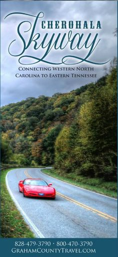 """The Cherohala Skyway crosses through the Cherokee and Nantahala National Forests thus the name """"Chero…hala"""". The Skyway is becoming well known in motorcycling and sportscar circles for it's long, sweeping corners, scenic views and cool summer breezes. For the brochure - http://www.grahamcountytravel.com/brochures/Cherohala/index.html"""