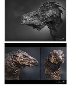Concept Arts de The Hobbit: the desolation of Smaug