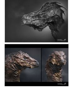 Concept Arts de The Hobbit: the desolation of Smaug