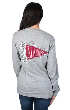 University of Alabama Pennant Flag - Long Sleeve