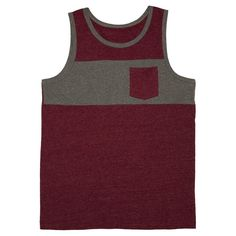 Men's Tank Top Red L - Mossimo Supply Co.