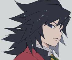 Demon Slayer( Kimetsu No Yaiba) Photo+memes - Giyu a.a our fav pillar - Wattpad Manga Anime, Anime Demon, Anime Art, Demon Slayer, Slayer Anime, Anime Love, Anime Guys, Demon Hunter, Fan Art