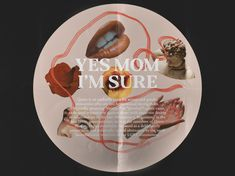 Yes Mom I'm Sure by Elliot-Soul Green Book Design, Layout Design, Design Art, Small Cards, Graphic Design Inspiration, Zine, Photo Book, Art Inspo, Layouts