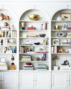Arched Book Shelves, Doorways, and Windows
