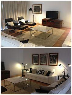 Living Room - Black and White