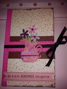 Card calendar book that I made www.randomcraftsofkindness.com