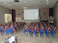 La nostra Sala Congressi pronta per l'evento di oggi