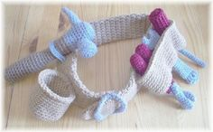 Do a little yarn-based home improvement with these masterfully constructed crocheted tool set patterns from Etsy seller KTBdesigns. Crochet Game, Crochet Tools, Crochet For Boys, Diy Crochet, Crochet Crafts, Yarn Crafts, Crochet Projects, Tsumtsum, Tool Belt