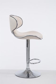 Cream Fabric Bar Stool Metal Frame Cafe Pub Hotel Kitchen Seat Chair Gas Lift for sale online Hotel Kitchen, Kitchen Seating, Bar Stools, Cream, Chair, Metal, Fabric, Home Decor, Bar Stool Sports