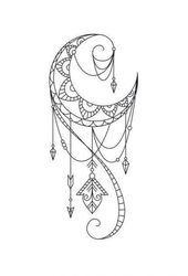 Besties unite Matching best friend tattoos are the ideal way to show the whole world just how much t Moon Tattoo Designs, Mandala Tattoo Design, Henna Tattoo Designs, Mandala Sun Tattoo, Tattoo Ideas, Body Art Tattoos, Tattoo Drawings, New Tattoos, Cool Tattoos