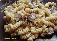 Poulet aux champignons 6 minutes au Cookéo