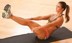 Barriga chapada com 5 exercícios | MdeMulher
