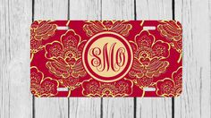 Personalized Monogrammed Royal Romance Floral by TopCraftCase