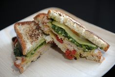 Udi's Turkey Pesto Grilled Cheese | Udi's® Gluten Free Bread