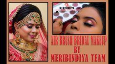 Full Bridal Airbrush Makeup at Venue by Meribindiya Team Party Makeup, Bridal Makeup, Party Venues, Airbrush Makeup, Makeup Yourself, Hair Makeup, Hairstyle, Book, Hair Job