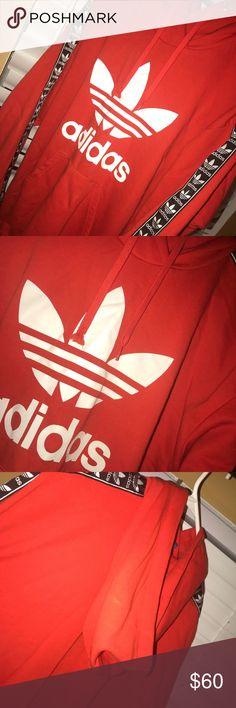 Adidas Hoodie Worn once  Really good condition adidas Tops Sweatshirts & Hoodies