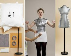 Cómo hacer un maniquí casero para la ropa