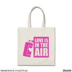 Instant Love Budget Tote Bag