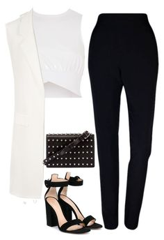 """""""Untitled #1083"""" by bellax01 on Polyvore featuring Plakinger, WearAll, Gianvito Rossi, Ross-Simons, Venus and Alexander Wang"""
