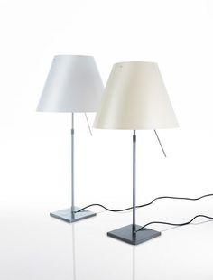 Lampe de Table Luceplan Costanza blanc