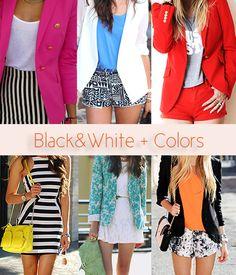 BlackandWhite Colors!