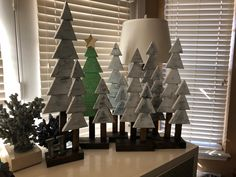 Christmas trees everywhere! Gifts for my friends for the holidays