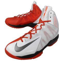 """Zapatilla Nike Air Max Sutter Step 2 """"blanca/roja"""", amortiguación suave y flexibilidad máxima www.basketspirit.com/Zapatillas-Baloncesto"""