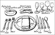 #TSD L'art de la table