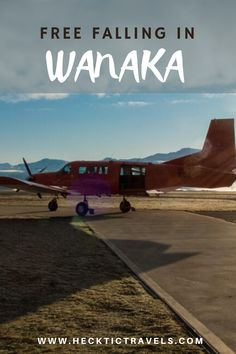 Pete's first skydive in Wanaka, New Zealand with Skydive Wanaka from 15,000 ft. Wanaka New Zealand, Visit New Zealand, Skydiving, South Island, News, Fall, Travel, Autumn, Viajes