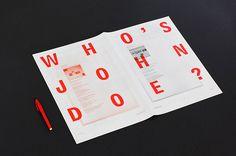 My Name Is studio, Who Is John Doe? Gorgeous, simplified design.