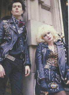 Sid Vicious and Nancy