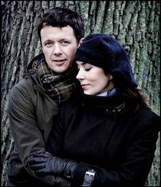Crown Prince Frederik and Crown Pricess Mary of Denmark.