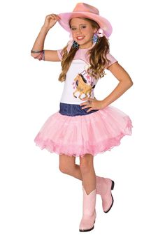 Planet Pop Star Cowgirl Costume - Girls Cowgirl Halloween Costumes