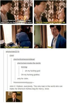 Desperately trying not to hyperventilate at Johnlock right now<<< not even in this ship but that's just hilarious